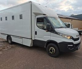 2016 IVECO 70-170 INSULATED BOX. FOR SALE IN FERMANAGH FOR £9,950 ON DONEDEAL