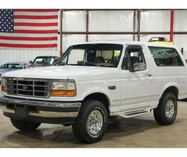 FOR SALE: 1996 FORD BRONCO IN KENTWOOD, MICHIGAN