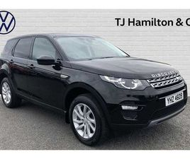 LAND ROVER DISCOVERY SPORT 2.0 TD4 (180PS) 4X4 SE TECH SW 5DR