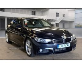 USED 2017 BMW 4 SERIES GRAN COUPE M SPORT COUPE 79,264 MILES IN BLACK FOR SALE | CARSITE