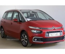 USED 2017 CITROEN C4 GRAND PICASSO FEEL BLUEHD MPV 15,507 MILES IN RED FOR SALE | CARSITE