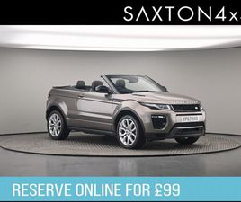 LAND ROVER RANGE ROVER EVOQUE 2.0 SI4 HSE DYNAMIC AUTO 4WD (S/S) 2DR