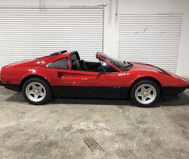FOR SALE: 1985 FERRARI 308 GTS IN KOKOMO, INDIANA