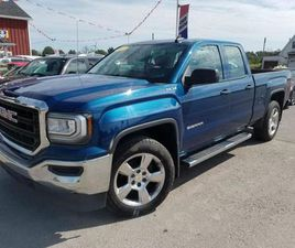 USED 2017 GMC SIERRA 1500 DOUBLE CAB 4WD 5.3 L V-8! 4X4! ONE OWNER! NO ACCIDENTS!