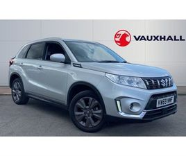 USED 2019 SUZUKI VITARA 1.4 BOOSTERJET SZ-T 5DR NOT SPECIFIED 12,036 MILES IN SILVER FOR S