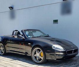 MASERATI 4200 4.3 GT SPYDER CAMBIO CORSA F1 MT