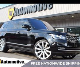 USED 2016 LAND ROVER RANGE ROVER LWB SV AUTOBIOGRAPHY