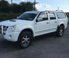 07 D MAX CREW CAB FOR SALE IN KILKENNY FOR €7,800 ON DONEDEAL