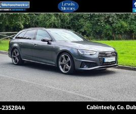 AUDI A4 AVANT BLACK EDITION 40TDI FOR SALE IN DUBLIN FOR €41,950 ON DONEDEAL