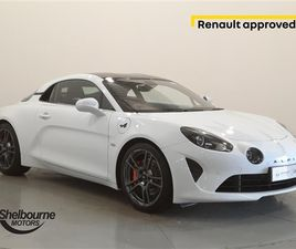 USED 2019 ALPINE A110 1.8L TURBO 292 S 2DR DCT COUPE 6,894 MILES IN WHITE FOR SALE | CARSI