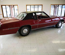 1978 OLDSMOBILE TORONADO - UNRESTORED SURVIVOR - ONLY 14500 KM!!   CLASSIC CARS   CALGARY