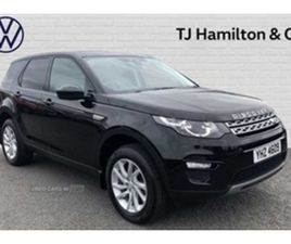 USED 2017 LAND ROVER DISCOVERY SPORT 2.0 TD4 (180PS) 4X4 SE TECH SW ESTATE 78,430 MILES IN