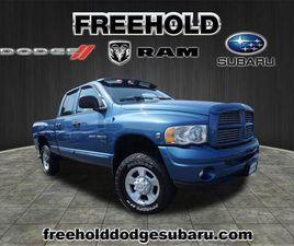 BLUE COLOR 2004 DODGE RAM 3500 FOR SALE IN FREEHOLD, NJ 07728. VIN IS 3D7LU38C04G208890. M