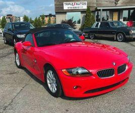 2004 BMW Z4 2,5I | CARS & TRUCKS | LÉVIS | KIJIJI