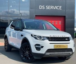 USED 2017 LAND ROVER DISCOVERY SPORT BLACK HSE T NOT SPECIFIED 50,739 MILES IN WHITE FOR S