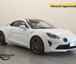 ALPINE A110 1.8 TURBO S DCT 2DR** 1.8 TURBO S DCT 2DR