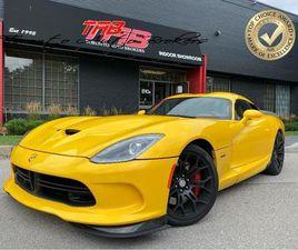 USED 2013 DODGE VIPER SRT GTS | 6 -SPEED | NAVI | COMING SOON