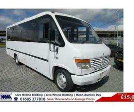 2013 - MERCEDES VARIO 813 24 SEAT MELLOR BODY DISABLED ACCESS BUS C/W W/C LIFT