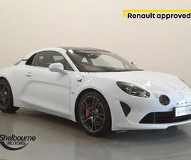 ALPINE A110 1.8 TURBO S DCT 2DR**