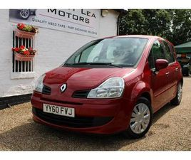 2010 RENAULT GRAND MODUS 1.2 EXPRESSION TCE (100BHP) - £2,995