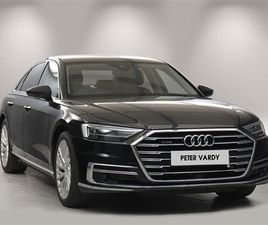 USED 2018 AUDI A8 55 TFSI QUATTRO 4DR TIPTRONIC SALOON 10,947 MILES IN BLACK FOR SALE   CA