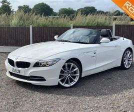 USED 2009 BMW Z4 SDRIVE23I ROADSTER CONVERTIBLE 64,500 MILES IN WHITE FOR SALE | CARSITE