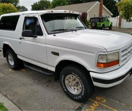 FOR SALE: 1996 FORD BRONCO IN CADILLAC, MICHIGAN