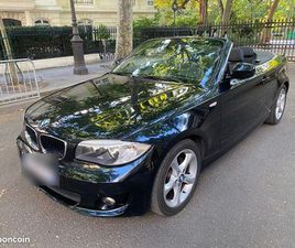 BMW 120I CABRIOLET PACK LUXE 46000KMS