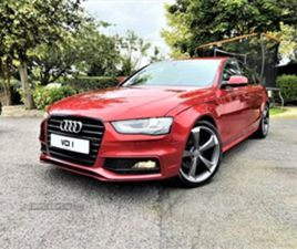 USED 2013 AUDI A4 S LINE TDI SALOON 128,000 MILES IN RED FOR SALE   CARSITE
