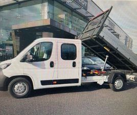 PEUGEOT BOXER CHASSIS 7 SEATER CREWCAB TIPPER FOR SALE IN DUBLIN FOR €36,178 ON DONEDEAL