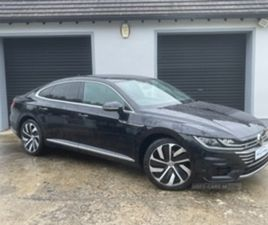 USED 2018 VOLKSWAGEN ARTEON R-LINE TDI S-A SALOON 85,000 MILES IN BLACK FOR SALE   CARSITE