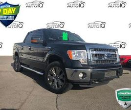 USED 2013 FORD F-150 XLT 3.5L ECOBOOST CREW CAB 4X4 CERTIFIED!