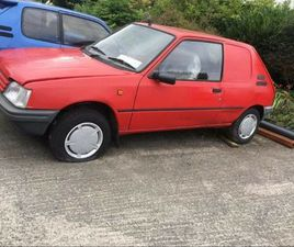 PEUGEOT 205 VAN FOR SALE IN WICKLOW FOR €1,700 ON DONEDEAL