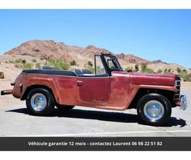 JEEP WILLYS JEEPSTER CONVERTIBLE WAGON 1950PRIX TOUT COMPRIS