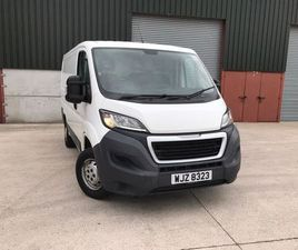 2015 PEUGEOT BOXER L1H1 FOR SALE IN DOWN FOR £8,500 ON DONEDEAL