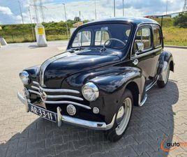 RENAULT 4CV NOIR 1955 - € 10.650 À VENDRE