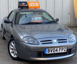 USED 2004 MG MGTF 1.6 115 16V 2DR CONVERTIBLE 89,211 MILES IN GREY FOR SALE | CARSITE