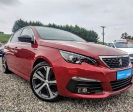 USED 2018 PEUGEOT 308 GT LINE BLUEHDI S/S HATCHBACK 22,273 MILES IN RED FOR SALE | CARSITE