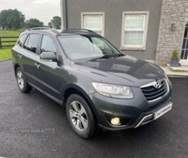 USED 2012 HYUNDAI SANTA FE PREMIUM CRDI A NOT SPECIFIED 95,522 MILES IN GREY FOR SALE | CA