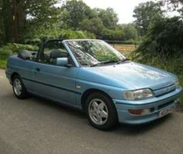 XR3I CONVERTIBLE, JUST 85000 MILES, FACTORY LEATHER INT, ONLY 3 FORMER KEE 2-DOOR