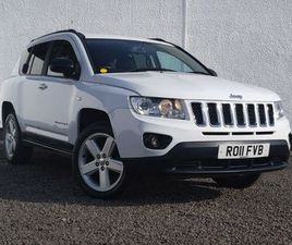 2011 JEEP COMPASS 2.2CRD LIMITED (161BHP) - £6,998