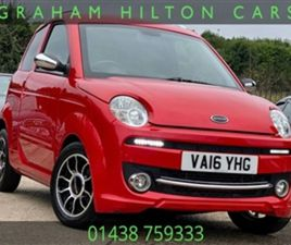 USED 2016 MICROCAR M-GO 0.5 PARIS CVT 3D 21 BHP HATCHBACK 9,727 MILES IN RED FOR SALE | CA