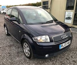 USED 2006 AUDI A2 1.4 TDI 5D 74 BHP HATCHBACK 104,000 MILES IN BLUE FOR SALE | CARSITE