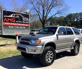 FOR SALE: 2002 TOYOTA 4RUNNER IN RALEIGH, NORTH CAROLINA