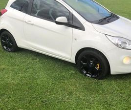 2016 FORD KA WHITE EDITION FOR SALE IN DUBLIN FOR €8,150 ON DONEDEAL
