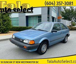 1988 MAZDA 323 3DR HATCHBACK | CARS & TRUCKS | RICHMOND | KIJIJI