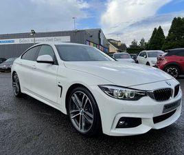 2017 BMW 4 SERIES 3.0TD 430D M SPORT (S/S) GRAN COUPE 5D - £23,450