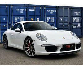 2013 PORSCHE 911 3.8 CARRERA S COUPE - £55,000