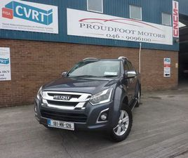 ISUZU D-MAX, 2018 FOR SALE IN MEATH FOR €26,950 ON DONEDEAL