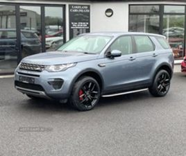 USED 2018 LAND ROVER DISCOVERY SPORT SE TD4 ESTATE 55,000 MILES IN BLUE FOR SALE | CARSITE